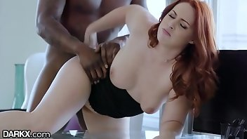 Boss Interracial Blowjob Doggystyle Redhead