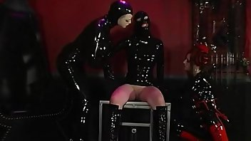 Sybian Threesome Spanking Masturbation