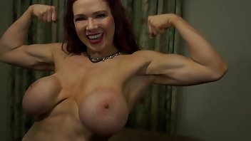 Muscular Women Muscle Big Tits Big Boobs