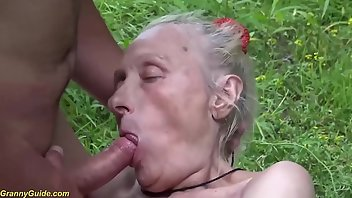 Saggy Tits Cumshot Outdoor Rough