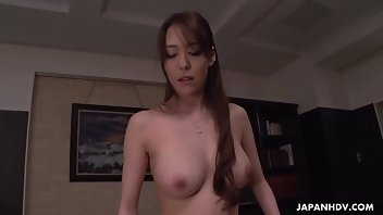 Japanese Uncensored Stockings Blowjob Brunette