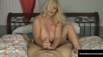Foot Fetish Cumshot Blonde MILF