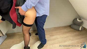 Leather Stockings European Creampie