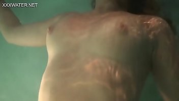 Underwater Outdoor Masturbation Solo