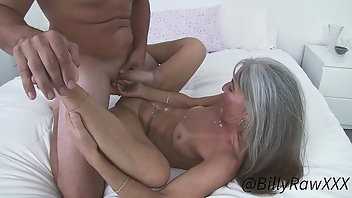 Backroom Cumshot MILF Interview